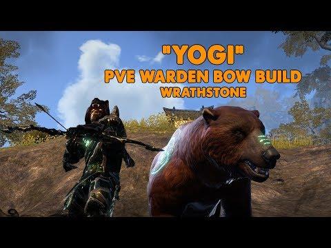 ESO - Yogi - Stamina Warden PVE BOW/BOW build - (Wrathstone)