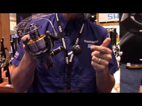 Shimano Twin Power Spinning Reels At ICAST 2015