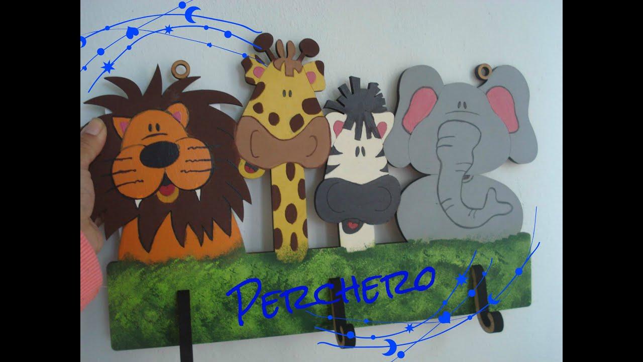 Perchero infantil infant clothes rack youtube - Perchero pared infantil ...