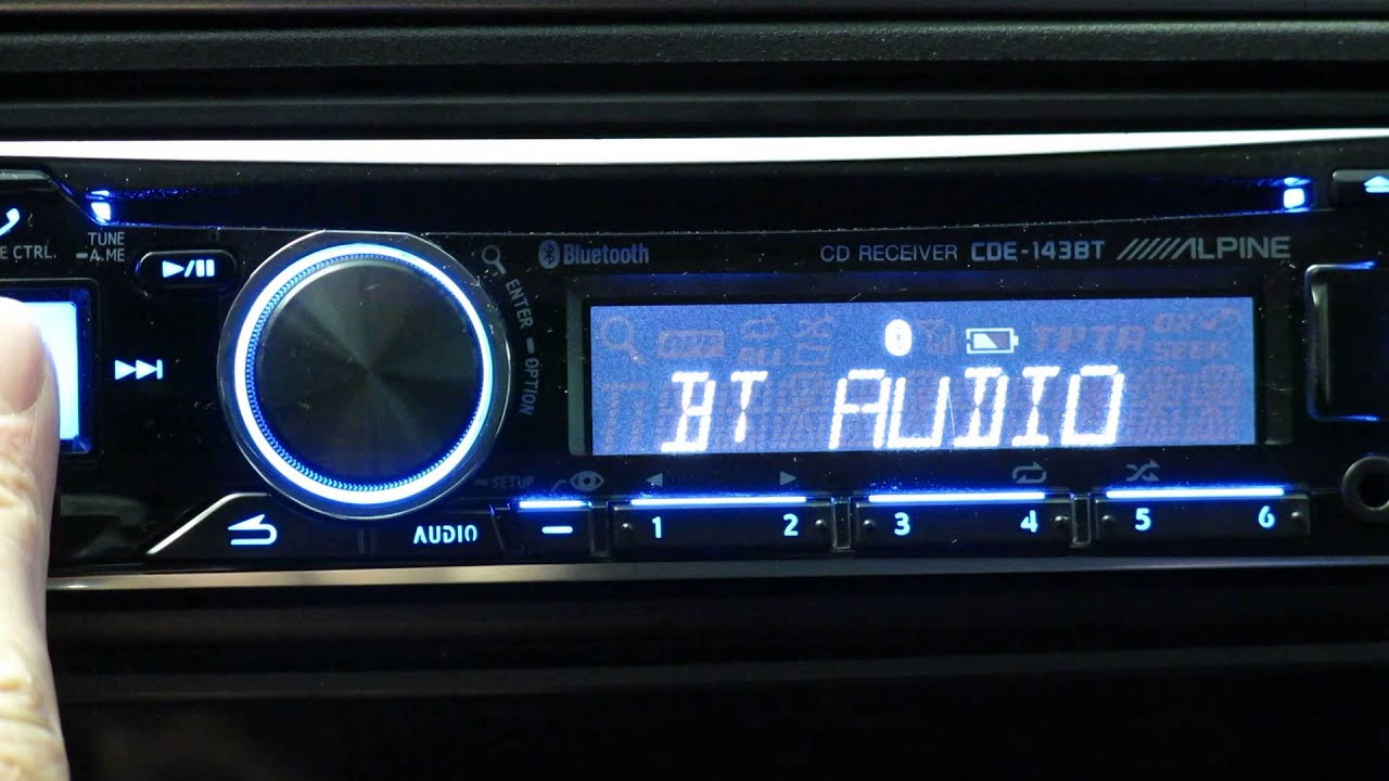 alpine sxm145bt car stereo wiring diagram alpine type r [ 1280 x 720 Pixel ]