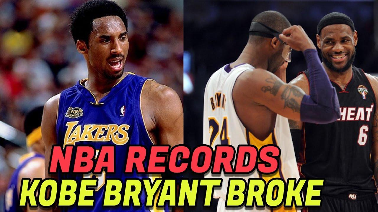 7 Nba Records Kobe Bryant Has Broken Best The Black Mamba