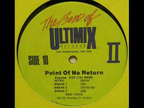 Expose' - Point Of No Return (Ultimix)