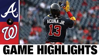 Braves vs. Nationals Game Highlights (5/06/21)   MLB Highlights