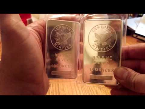 Silver & gold unboxing JM Bullion and BPM
