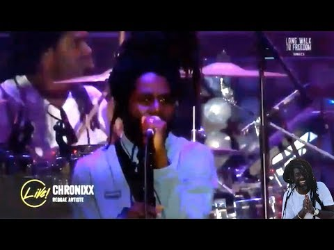 Chronixx LIVE Performance At Buju Banton CONCERT Long Walk To Freedom