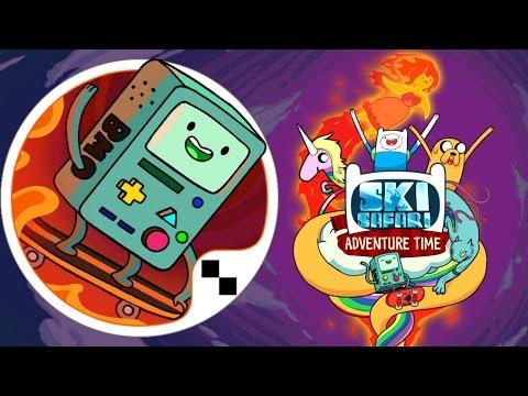 Ski Safari Adventure Time App Gameplay