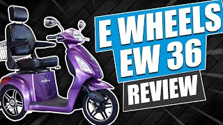E Wheels EW 36 Scooter Review Video