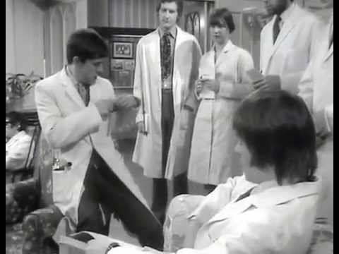 Doctor at Large Ep 1 Now Dr Upton in B&W