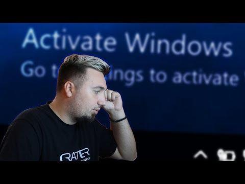 "Kako skloniti ""Activate Windows"""