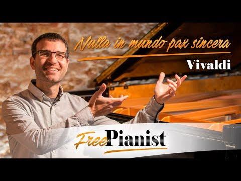 Nulla in mundo pax sincera - KARAOKE / PIANO ACCOMPANIMENT - Motet RV 630 - Vivaldi