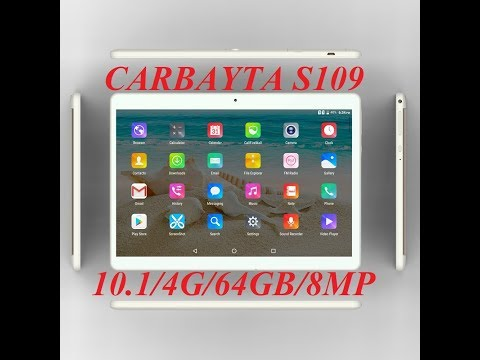 Планшет CARBAYTA S109 10.1 4G LTE 64 GB 4 GB RAM Tablet 10.1