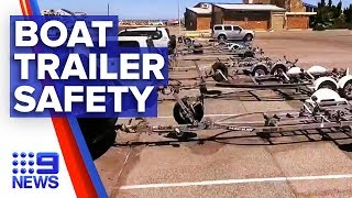 Dangerous acts of sabotage uncovered at Adelaide boat ramps | Nine News Australia