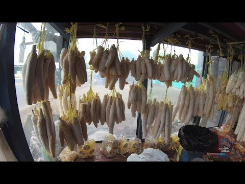 Indonesia Cikampek Street Food 2046 Part.1 Fermented Cassava Tape Rambutan Celengan YDXJ0263