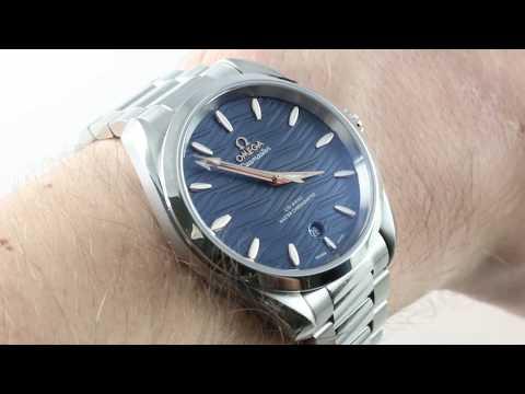 2018 Omega Seamaster Aqua Terra 150m (220.10.38.20.03.002) Luxury Watch Review