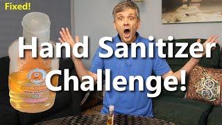 Hand Sanitizer Challenge Fundraiser for Medical Teams International