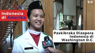 Paskibraka Diaspora Indonesia Di Washington D.C.