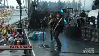 Papa Roach - Face Everything and Rise (Rock On The Range Festival 2015)