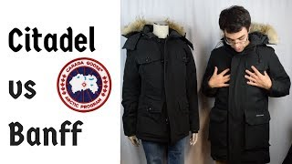 Citadel vs Banff Review Comparison Parka Canada Goose