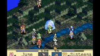 Tactics Ogre (SNES) - No Training Run, Summoner Ramidos on Gruborza Plains