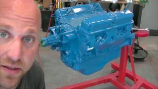 """How to PAINT AN ENGINE - """"340 Engine Build Part 5"""""""