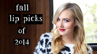 Favorite Fall Lipstick Picks for 2014 Thumbnail