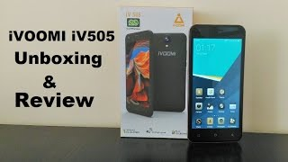 ivoomi iv505 unboxing hands on review