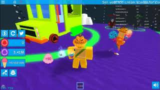 WE ARE RICH ALREADY,but sorry starting to be a pro already. ROBLOX ICE CREAM SIMULATOR.