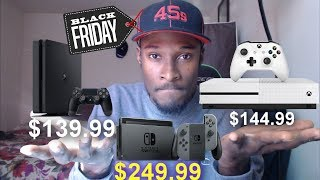 Leaked Black Friday Ad Has PS4 And Xbox One S For Under $150 & Nintendo Switch