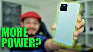 Pixel 5 April Update: Did we REALLY get MORE POWER?