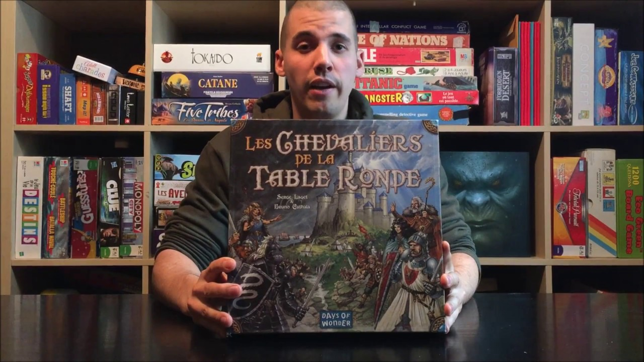 Tutoriel du jeu chevalier de la table ronde youtube - Jeu de societe les chevaliers de la table ronde ...