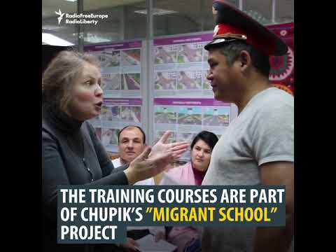 Moscow Migrants School: Be Brave With The Police