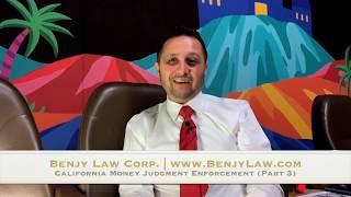 BLC Legal Talks - California Money Judgment Enforcement Series - Part 3: Asset Identification Ideas