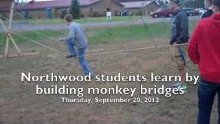 Northwood Students Make Monkey Bridges