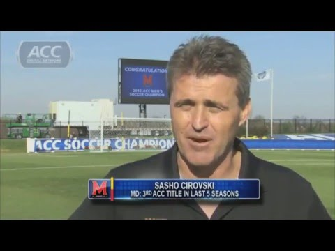 Maryland Claims 2012 ACC Men's Soccer Title