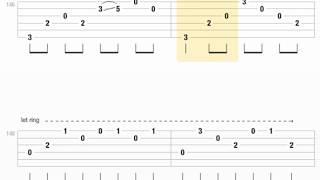 [Guitar Pro] Người đàn bà hóa đá Guitar Solo Tab