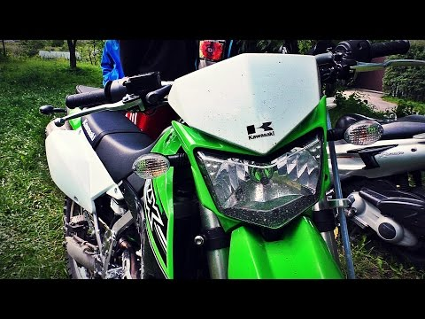 Kawasaki KLX 250 2016 обзор и тестдрайв мотоцикла / review & test drive