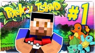One of Vikkstar123HD's most viewed videos: CHOOSING MY STARTER! - PIXELMON ISLAND S2 #1 (Minecraft Pokemon Mod)