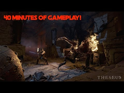 Theseus | 40 Minutes Of Gameplay | No Commentary | Playstation VR + PS4 PRO