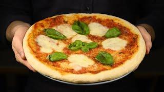 Я научу вас готовить НАСТОЯЩУЮ ПИЦЦУ в домашних условиях. ПИЦЦА МАРГАРИТА вкусней чем в пиццерии.