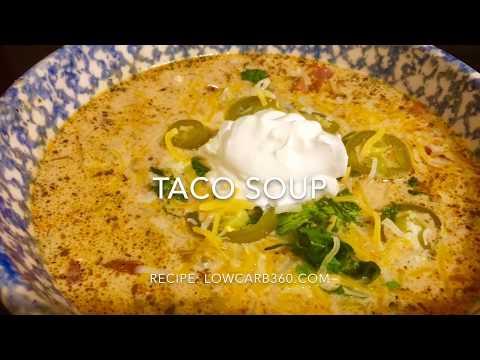 Keto Taco Soup/ Low Carb Recipe
