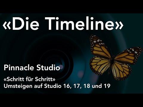 Timeline in Pinnacle Studio  - Umsteigen auf Studio 16, 17, 18 und 19