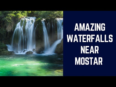 The Incredible Kravica Waterfalls in Bosnia and Herzegovina! (Drone Footage)