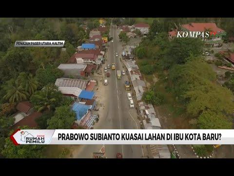 Prabowo Subianto Kuasai Lahan di Ibu Kota Baru?
