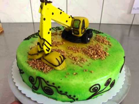 Bagger Torte Youtube