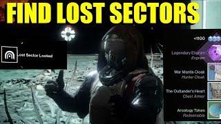"How To Find ""Lost Sectors"" In Destiny 2 (EDZ, TITAN, IO, & Nessus)"