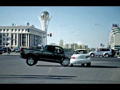Аварии в астане видео