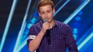 12-latek opowiada sprośne żarty w Amerykańskim Mam Talent (2014) [NAPISY PL]