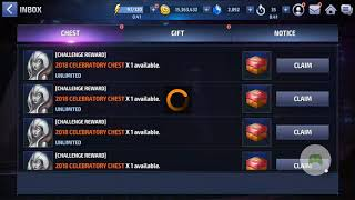 2018 celebration event Marvel future fight