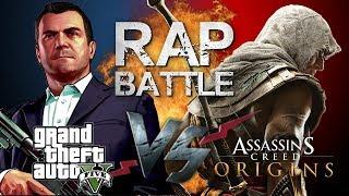 Рэп Баттл - Assassin's Creed: Origins vs. GTA 5