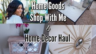 ✨Glam Home✨ HOME DECOR HAUL | SHOP WITH ME AT HOMEGOODS